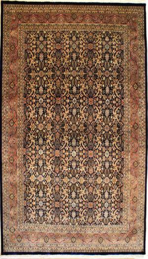 Fine quality Navy rug