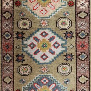 olive Kazak rug