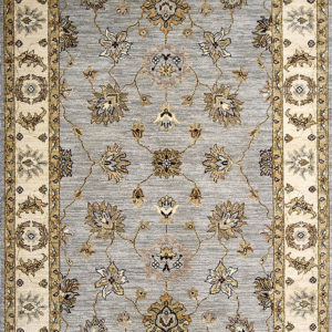 Blue Agra Traditional area rug