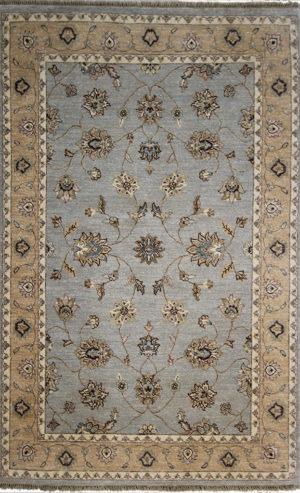 gray traditional area rug