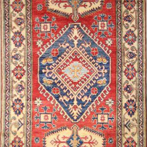 Red Kazak rug oriental rug