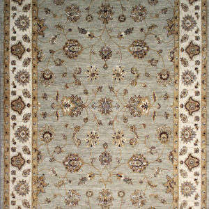 Traditional oriental area rug