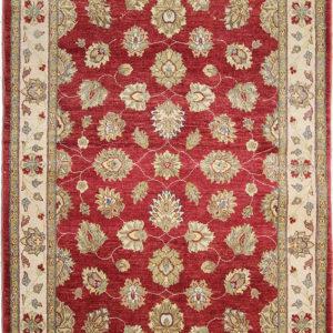 Cherry red Ziegler area rug