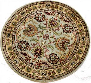 round oriental area rug