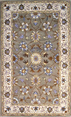 traditional oriental wool area rug