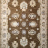 traditional area rug made with wool