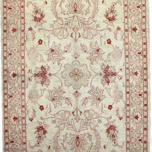 Ivory traditional area rug