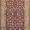 burgundy traditional area rug