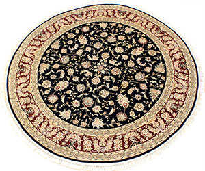 navy blue round area rug